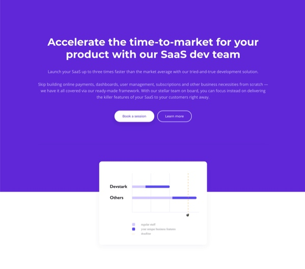 Devstark website