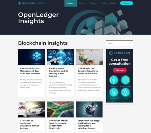 Openledger website