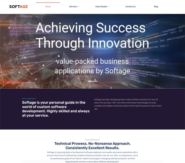 Softage website